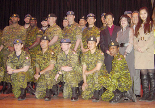 diversity training diversity speaker canadian armed forces military