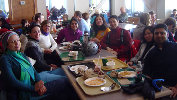 gender diversity, cultural diversity, east indian, ski, skiing
