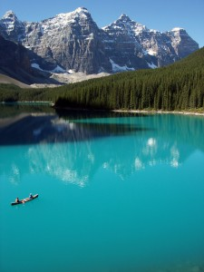 banff lake louise moraine lake national park inspirational speaker