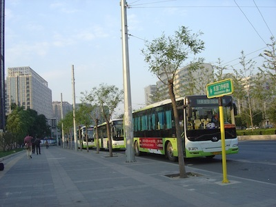 beijing bus mutianyu great wall of china travel tour visit cheap