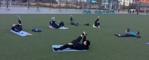 martial arts stretching total body stretch class