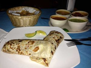 authentic mexico food dinner burritos