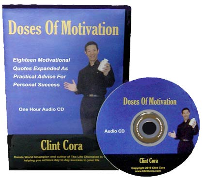 image self development audio cd doses motivation inspirational speaker clint cora